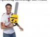Spielzeug Kettensäge mit Sound