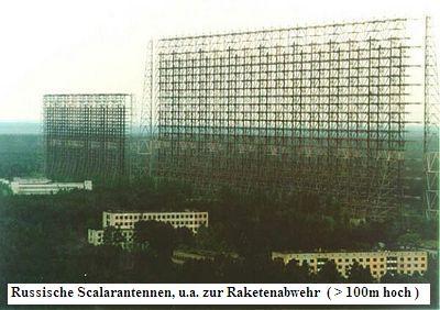 UDSSR-Skalar-Antenne-Pripjat
