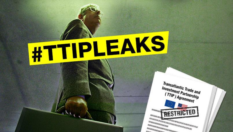 BRISANT: Greenpeace NL veröffentlicht geheime TTIP-Dokumente-Bitte Weiterverbreiten